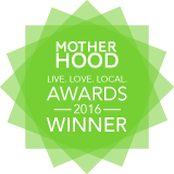 Motherhood awards winner badge